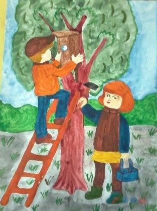 Финал республиканского конкурса рисунка «Мир глазами детей» состоялся в Луганске (ФОТО)