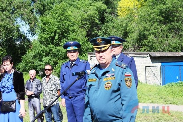 Последний звонок прозвучал для 23 кадетов Луганского кадетского корпуса (ФОТО)