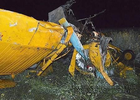 Самолет разбился в Волынской области, пилот погиб