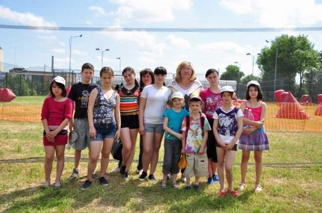 В Луганске прошел чемпионат по пейнтболу среди любительских команд (фото)