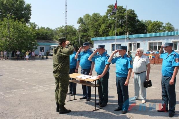 Курсанты училища ЛАВД приняли присягу на верность народу Республики (ФОТО)