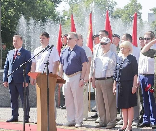 День памяти и скорби: Луганск. 22 июня 2016 года