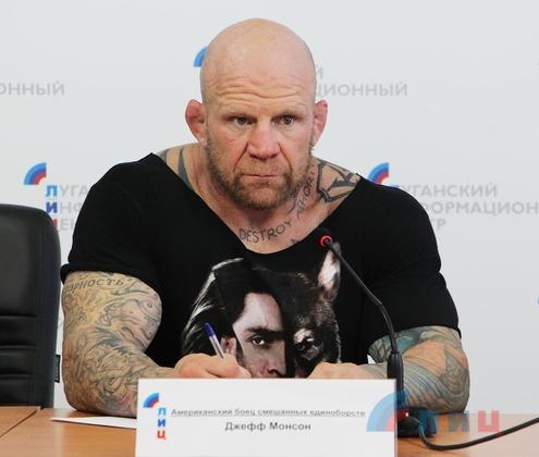 Американский боец ММА Монсон поможет донести миру правду об агрессии Киева в Донбассе