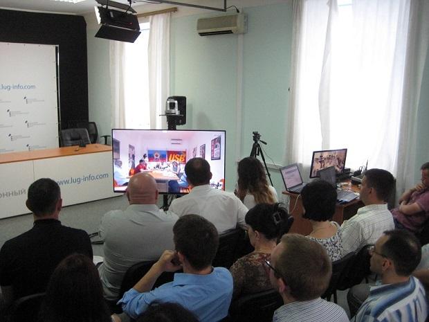 Профсоюзы ЛНР и Италии продолжат сотрудничество с целью прорыва информблокады