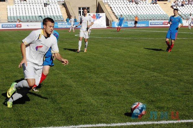Команда ДНР в финальном матче в Луганске завоевала Суперкубок Донбасса (ФОТО)