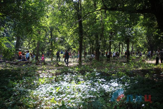 Около тысячи жителей Луганска уже вышли на благоустройство парка им. Горького (ФОТО)