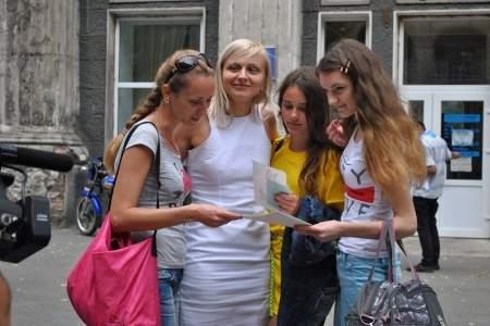 Возвращение юных луганчан из лагеря «Парус» РФ