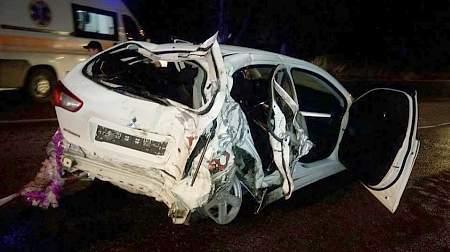 Трое пьяных полицейских сбили электроопору, убегая от патруля в Харькове