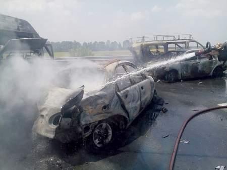 Количество травмированных в дорожно-транспортных происшествий на автодороге Киев-Одесса увеличилось до 11