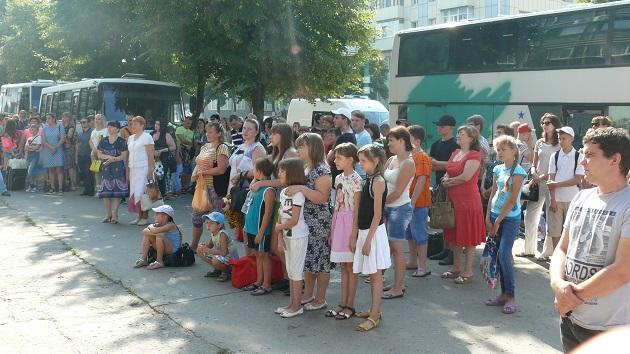 Состоялся первый в этом году заезд в оздоровительный детский лагерь «Лучистый»