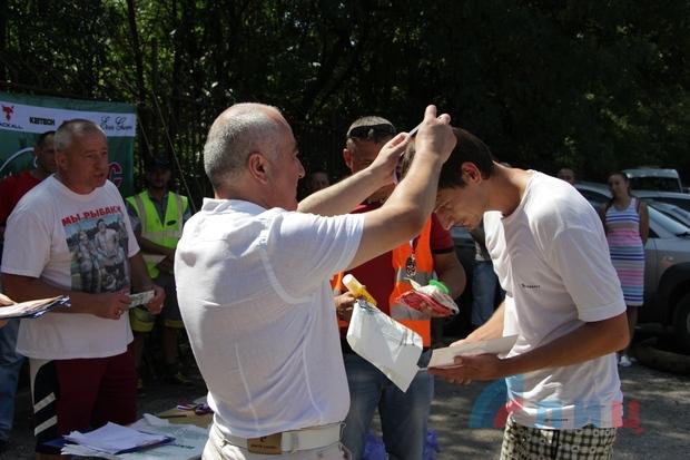 Соревнование по рыбалке среди людей с ограниченными возможностями прошло в Луганске (ФОТО)