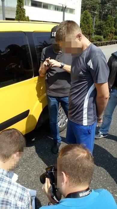 СБУ задержала в Киеве нацгвардейца, который продавал наркотики