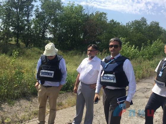 ОБСЕ отказалась обеспечивать безопасность встречи с представителями ЛНР у Золотого (ФОТО)