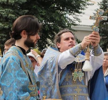 Луганский храм «Умиление» отметил свое пятилетие