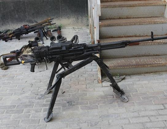 МГБ изъяло из заминированного тайника украинских ДРГ пулеметы, минометы, боеприпасы (ФОТО)