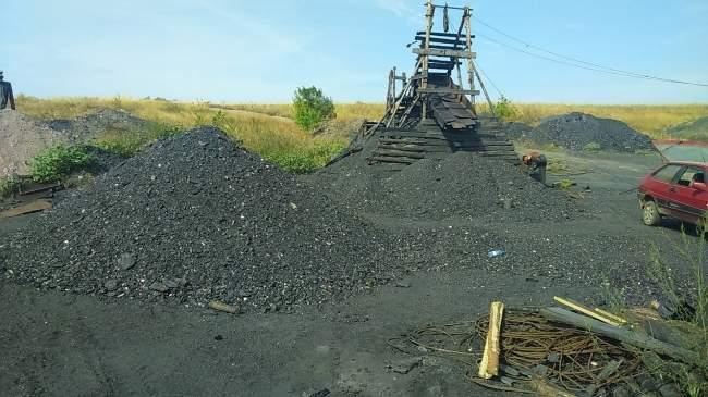 В Красном Луче полиция выявила факт незаконного предпринимательства по добыче угля (фото)