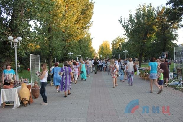«Бурановские бабушки» выступили на летней сцене сквера имени Героев «Молодой гвардии» (ФОТО)