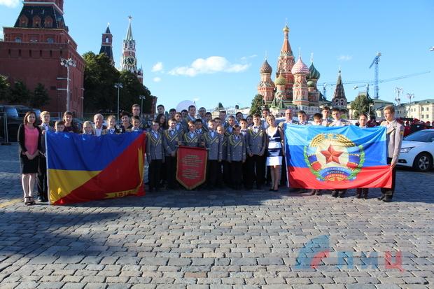 Детский оркестр из Молодогвардейска выступил на фестивале «Спасская башня» в Москве (ФОТО)