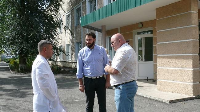 Депутат регионального Совета Пьемонт (Италия) Маурицио Марроне прибыл с визитом в ЛНР