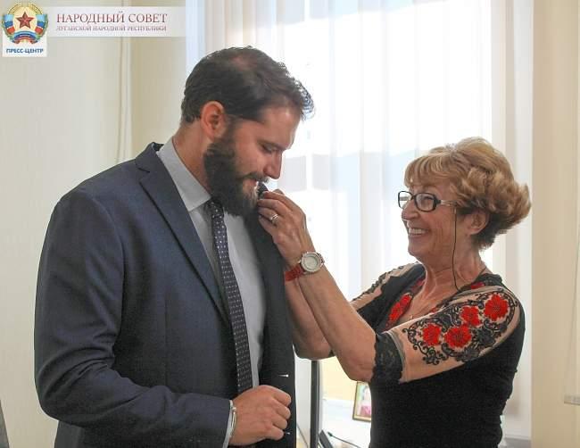 Депутат Пьемонта и парламентарии ЛНР обсудили вопросы международного сотрудничества