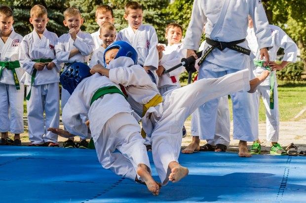 Федерация айкидо ЛНР провела открытую тренировку в честь Дня города Луганска (ФОТО)