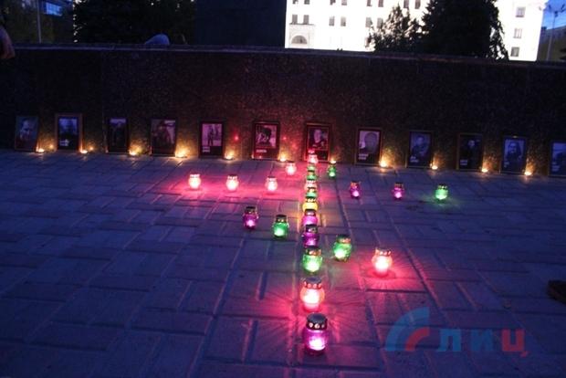 Мотоциклисты Республики помянули в Луганске своих погибших товарищей (ФОТО)