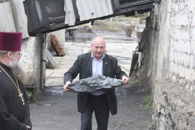 Шахта «Фащевская» возобновила добычу