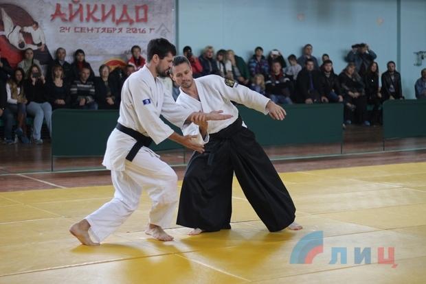 Спортсмены из клубов айкидо ЛНР и ДНР выступили на фестивале в Луганске (ФОТО)