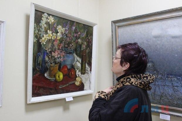 """Выставка картин """"Осенний вернисаж"""" открылась в Галерее искусств Луганска (ФОТО)"""