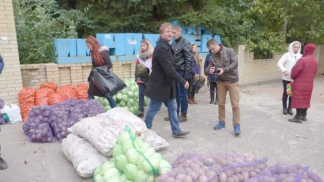 """Помощь жителям Первомайска""""> ."""