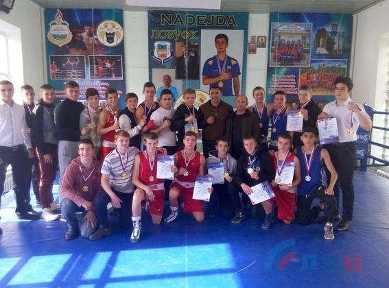 Победители чемпионата по боксу вошли в сборную ЛНР для участия в международных турнирах (ФОТО)