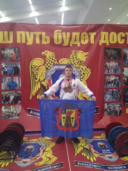 Луганчанин Андрей Костин стал серебряным призером чемпионата Европы АМС «Витязь» и выполнил второго «Мастера спорта международного класса»
