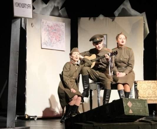 Луганский драматический театр приглашает на спектакль «Соловьиная ночь»