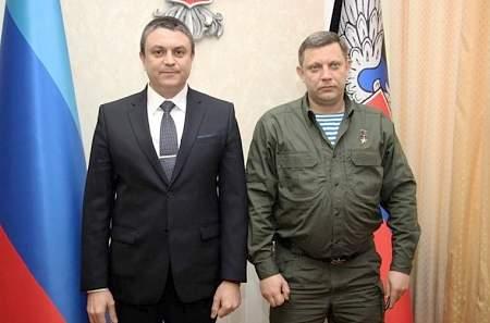 Лидеры ЛНР и ДНР подписали протокол о намерениях создать единое таможенное пространство