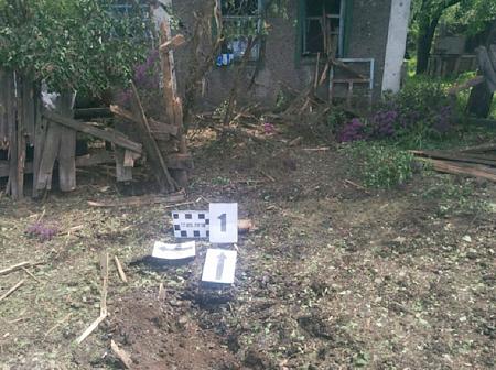 Три жилых дома в Золотом — 5 получили повреждения в результате обстрела ВСУ – СЦКК