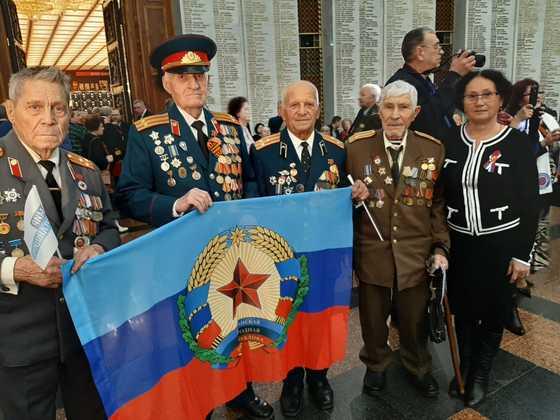 Председатель комиссии ОП возглавила делегацию ветеранов ЛНР на Балу Победителей в Москве (ФОТО)
