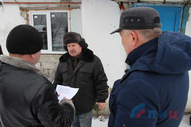 Жители прифронтовых сел ЛНР не спешат восстанавливать свои дома, опасаясь новых обстрелов (ФОТО)