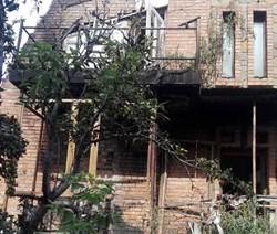 В городе Ровеньки горела хозяйственная постройка