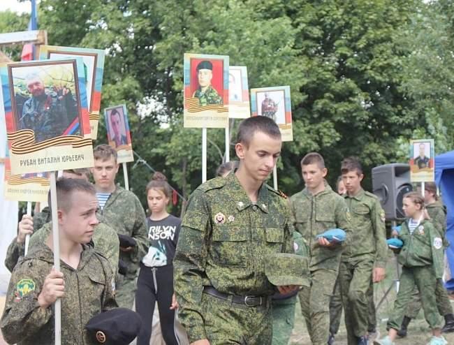 Второй Открытый фестиваль детских военно-патриотических организаций и объединений открылся в Перевальском районе