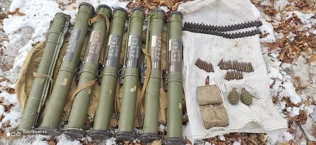 Cотрудниками Генеральной прокуратуры выявлен тайник с боеприпасами