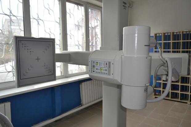 Лутугинская ЦРМБ получила по программе развития здравоохранения цифровой флюорограф (ФОТО)