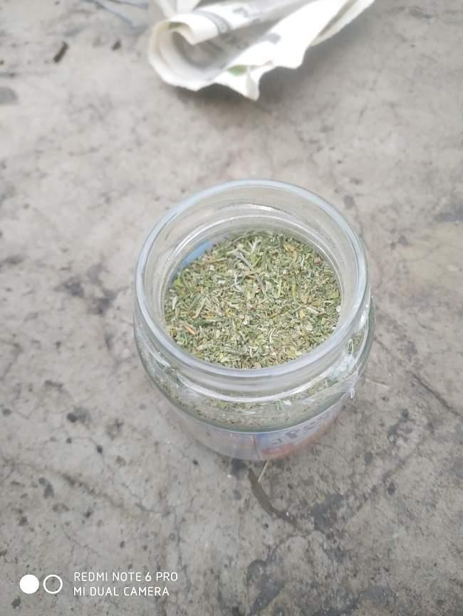 У жителя Республики обнаружено и изъято около 1 кг наркотического средства - марихуаны