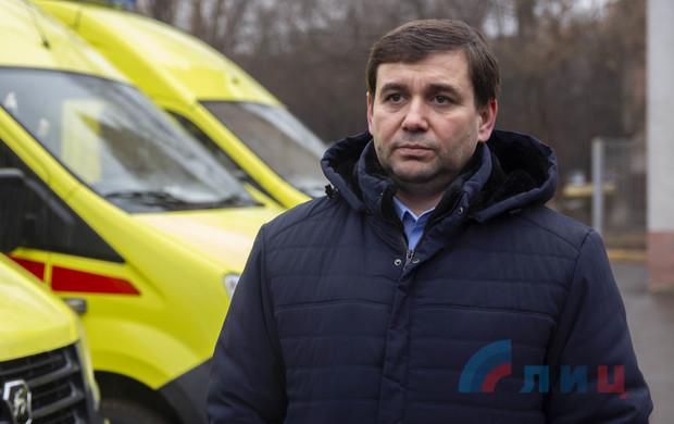 Республика закупила автомобили скорой помощи для Антрацита и Красного Луча (ФОТО)