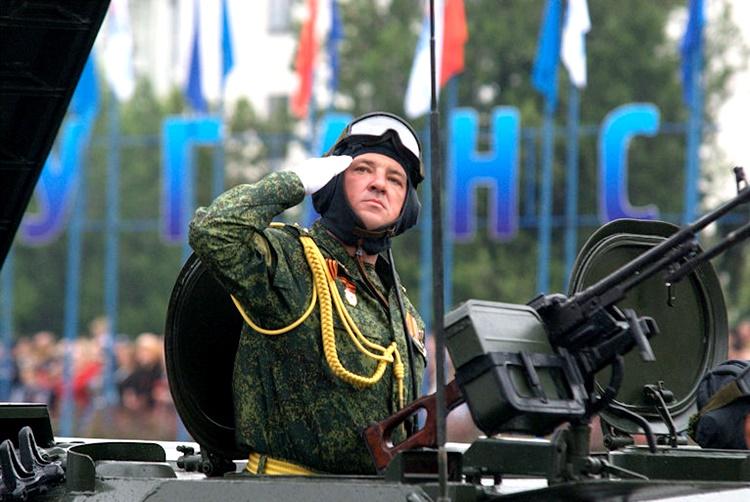 День Победы в Луганске фото